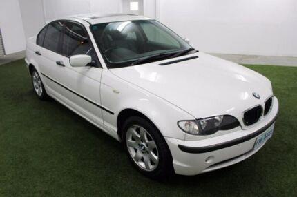 2005 BMW 318I E46 MY2004 Steptronic White 5 Speed Sports Automatic Sedan