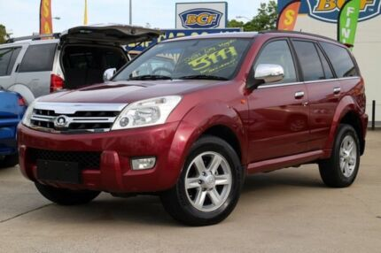 2010 Great Wall X240 CC6460KY Red 5 Speed Manual Wagon Greenslopes Brisbane South West Preview