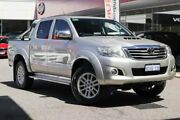 2014 Toyota Hilux KUN26R MY14 SR5 Double Cab Silver 5 Speed Automatic Utility Osborne Park Stirling Area Preview