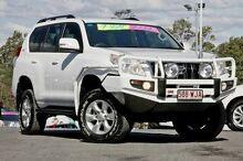 2009 Toyota Landcruiser Prado GRJ150R GXL White 5 Speed Sports Automatic Wagon Sinnamon Park Brisbane South West Preview