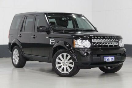 2012 Land Rover Discovery 4 MY12 3.0 SDV6 HSE Black 6 Speed Automatic Wagon Bentley Canning Area Preview