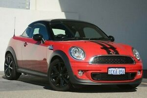 2013 Mini Coupe R58 Cooper S Red 6 Speed Manual Coupe Wangara Wanneroo Area Preview