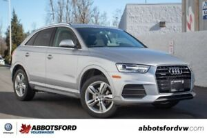 2016 Audi Q3 Progressiv NO ACCIDENTS, BC CAR, AWESOME DEAL!