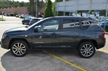 2013 Jeep Compass MK MY14 Limited (4x4) Grey 6 Speed Automatic Wagon Campbelltown Campbelltown Area Preview