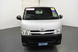 2012 Toyota Hiace TRH201R MY11 Upgrade LWB White 4 Speed Automatic Van Moorabbin Kingston Area Preview