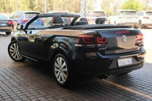2011 Volkswagen Golf VI MY12 118TSI Black 6 Speed Manual Cabriolet