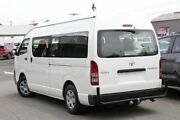 2013 Toyota Hiace TRH223R MY12 Commuter High Roof Super LWB White 4 Speed Automatic Bus Frankston Frankston Area Preview