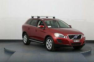 2011 Volvo XC60 DZ MY11 D5 Burgundy 6 Speed Automatic Geartronic Wagon Smithfield Parramatta Area Preview