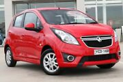 2014 Holden Barina Spark MJ MY15 CD Red 4 Speed Automatic Hatchback Liverpool Liverpool Area Preview