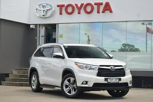 2016 Toyota Kluger GSU50R Grande (4x2) Pearl 6 Speed Automatic Wagon Old Guildford Fairfield Area Preview