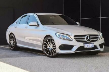 2015 Mercedes-Benz C200 W205 7G-Tronic + Silver 7 Speed Sports Automatic Sedan Wangara Wanneroo Area Preview