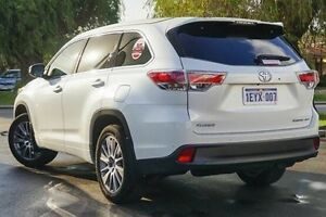 2015 Toyota Kluger GSU55R Grande AWD Crystal Pearl 6 Speed Sports Automatic Wagon Glendalough Stirling Area Preview