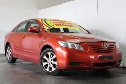 2008 Toyota Camry ACV40R 07 Upgrade Altise Orange 5 Speed Automatic Sedan Underwood Logan Area Preview