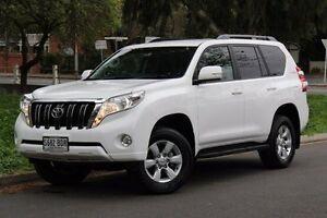 2014 Toyota Landcruiser Prado White Sports Automatic Wagon Hawthorn Mitcham Area Preview