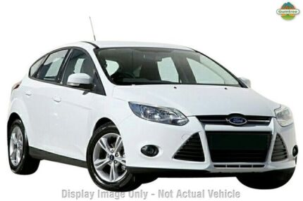 2015 Ford Focus LW MKII MY14 Trend PwrShift Frozen White 6 Speed Sports Automatic Dual Clutch Hatchb Tuggerah Wyong Area Preview