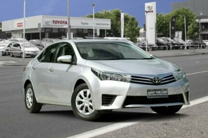 2015 Toyota Corolla ZRE172R Ascent S-CVT Silver Ash 7 Speed Constant Variable Sedan Adelaide CBD Adelaide City Preview