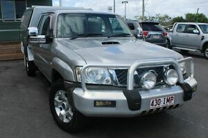 2004 Nissan Patrol GU IV MY05 ST Silver 5 Speed Manual Wagon Wakerley Brisbane South East Preview
