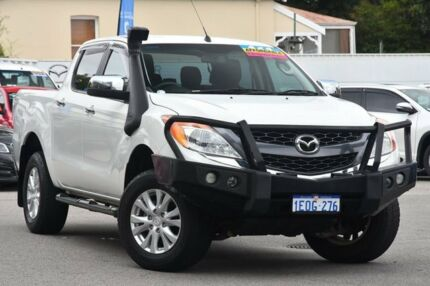 2014 Mazda BT-50 UP0YF1 XTR Cool White 6 Speed Sports Automatic Utility Maylands Bayswater Area Preview