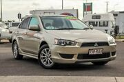 2010 Mitsubishi Lancer CJ MY11 ES Gold 6 Speed Constant Variable Sedan Gympie Gympie Area Preview