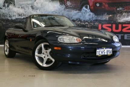 1999 Mazda MX-5 NB Blue 5 Speed Manual Convertible Rockingham Rockingham Area Preview