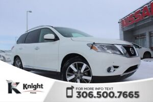 2015 Nissan Pathfinder Platinum - Command Start - Heated & Coole