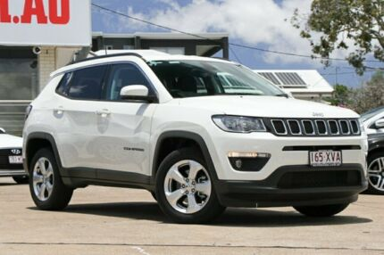 2017 Jeep Compass M6 MY18 Longitude FWD Vocal White 6 Speed Automatic Wagon Moorooka Brisbane South West Preview