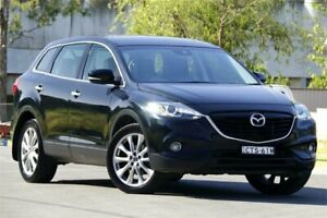 2013 Mazda CX-9 TB10A5 MY14 Grand Touring Activematic AWD Black 6 Speed Sports Automatic Wagon
