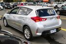 2012 Toyota Corolla ZRE152R MY11 Ascent Sport Silver 6 Speed Manual Hatchback Ringwood East Maroondah Area image 2