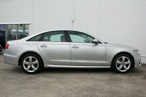 2014 Audi A6 4G MY14 Multitronic Ice Silver 1 Speed Constant Variable Sedan Currimundi Caloundra Area Preview