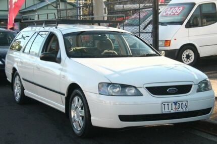 2005 Ford Falcon BF XT (LPG) White 4 Speed Auto Seq Sportshift Wagon Briar Hill Banyule Area Preview