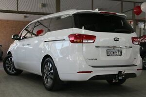 2015 Kia Carnival YP MY16 Update SLi White 6 Speed Automatic Wagon Roseville Ku-ring-gai Area Preview