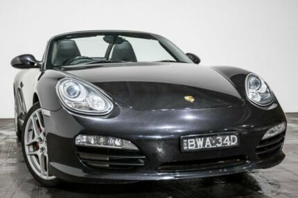 2009 Porsche Boxster 987 MY09 S PDK Black 7 Speed Sports Automatic Dual Clutch Convertible