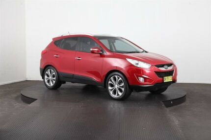 2011 Hyundai ix35 LM MY11 Highlander (AWD) Red 6 Speed Automatic Wagon