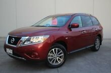 2014 Nissan Pathfinder R52 MY14 ST X-tronic 2WD Red 1 Speed Constant Variable Wagon Berwick Casey Area Preview