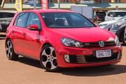 2010 Volkswagen Golf VI MY10 GTI DSG Red 6 Speed Sports Automatic Dual Clutch Hatchback Mindarie Wanneroo Area Preview