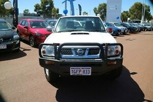 2012 Nissan Navara D22 S5 ST-R White 5 Speed Manual Utility Wilson Canning Area Preview