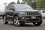 2014 Jeep Grand Cherokee WK MY2014 Limited Grey 8 Speed Sports Automatic Wagon Hillcrest Logan Area Preview