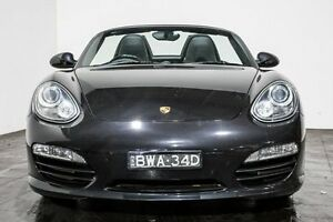 2009 Porsche Boxster 987 MY09 S PDK Black 7 Speed Sports Automatic Dual Clutch Convertible Rozelle Leichhardt Area Preview