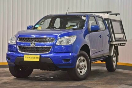2016 Holden Colorado RG MY17 LS Crew Cab Blue 6 Speed Sports Automatic Cab Chassis Hendra Brisbane North East Preview