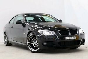 2011 BMW 320D E92 MY11 Steptronic Black 6 Speed Sports Automatic Coupe Seven Hills Blacktown Area Preview