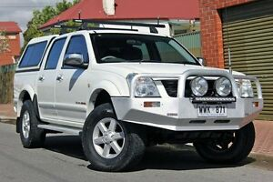 2003 Holden Rodeo RA LT Crew Cab White 5 Speed Manual Utility Glenelg Holdfast Bay Preview