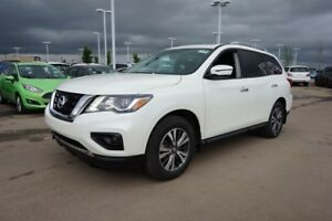 2018 Nissan Pathfinder 4X4 SL V6 SUNROOF, LEATHER HEATED SEATS,