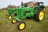 1946 John Deere A antique tractor