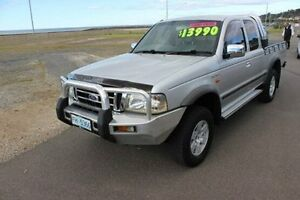 2003 Ford Courier PG XLT Super Cab Silver 5 Speed Manual Utility Burnie Burnie Area Preview
