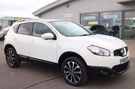 NISSAN QASHQAI 1.5 N-TEC PLUS DCI 5d 110 BHP - VIEW 360 SPIN ON O (white) 2011