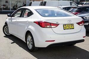 2014 Hyundai Elantra MD3 Trophy White 6 Speed Sports Automatic Sedan Kings Park Blacktown Area Preview