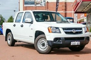 2011 Holden Colorado RC MY11 LX Crew Cab White 5 Speed Manual Utility Fremantle Fremantle Area Preview