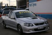 2004 Ford Falcon BA XR8 Silver 5 Speed Manual Utility Fyshwick South Canberra Preview