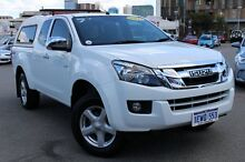 2013 Isuzu D-MAX MY12 LS-U Space Cab White 5 Speed Manual Utility Northbridge Perth City Preview