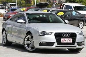 2012 Audi A5 8T MY13 Multitronic Silver 8 Speed Constant Variable Coupe Moorooka Brisbane South West Preview